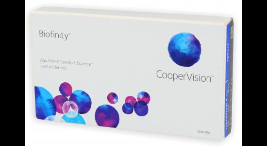 Biofinity 3 szt. (Aquaform® Comfort Science™)