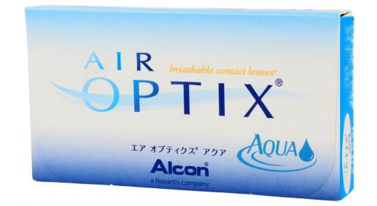 Air Optix AQUA 6 szt. + Płyn 60 ml GRATIS - Moce magazynowe 24h