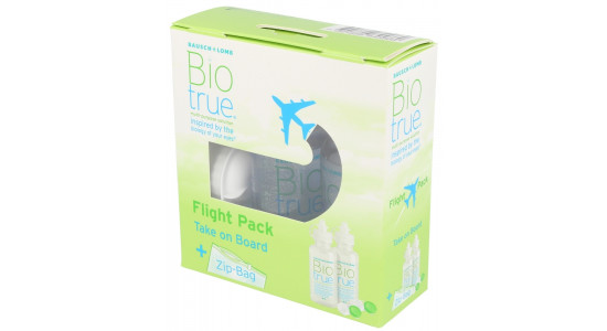 Bausch & Lomb BioTrue Flight Pack 2x 60 ml (do samolotu)