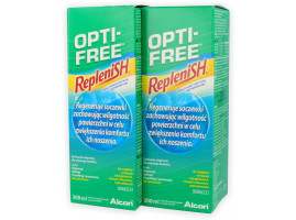 ZESTAW: 2x OPTI-FREE Replenish 300 ml