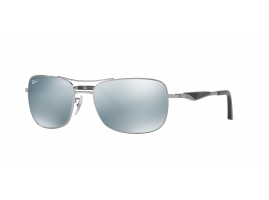 Ray-Ban AVIATOR FLAT METAL RB3515 004/Y4 61
