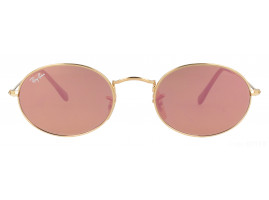 Ray-Ban OVAL FLAT LENSES RB3547N 001/Z2 48