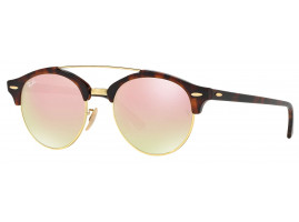 Ray-Ban CLUBROUND DOUBLE BRIDGE RB4346 990/7O 51