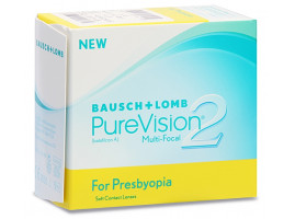 PureVision 2 HD for Presbyopia (Multifokalne) 3 szt.