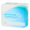 PureVision 2 HD 6 szt. + PureMoist 60 ml GRATIS - 2