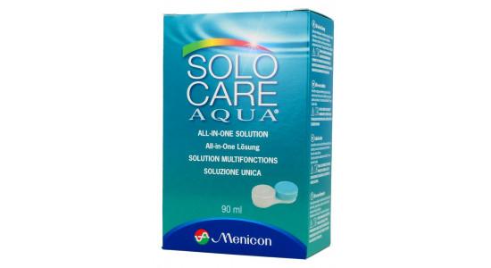 SOLO-care Aqua 90 ml - Idealny do samolotu