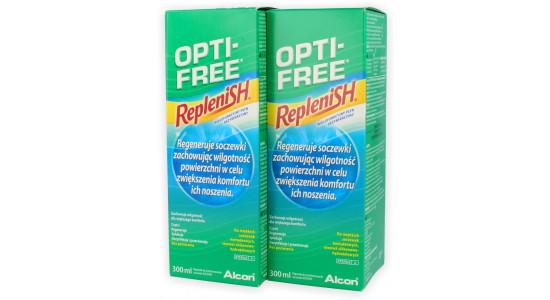 ZESTAW: 2x OPTI-FREE Replenish 300 ml