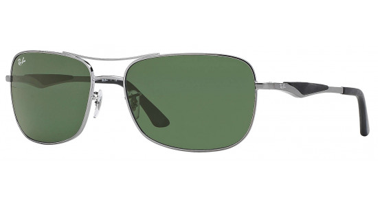 Ray-Ban AVIATOR FLAT METAL RB3515 004/71 58