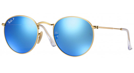 Ray-Ban ROUND METAL RB3447 112/4L 53