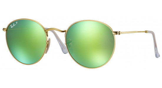 Ray-Ban ROUND METAL RB3447 112/P9 53