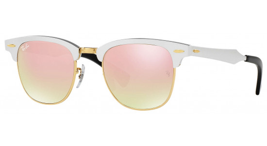 Ray-Ban CLUBMASTER ALUMINUM RB3507 137/7O 51