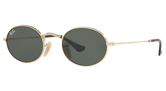 Ray-Ban OVAL FLAT LENSES RB3547N 001 48