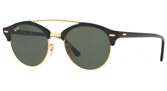 Ray-Ban CLUBROUND DOUBLE BRIDGE RB4346 901 51