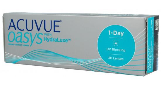 Acuvue 1-DAY Oasys 30 szt. with HydraLuxe - Szybka wysyłka 24h